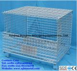 Depósito de armazenamento Dobrável Palete de malha de arame de Metal Box / Cesta