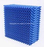PVC冷却塔のための六角形の蜜蜂の巣の形の盛り土