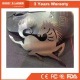 Laser argenté de cuivre de fibre de machine de découpage de bijou d'or avec la protection de pleine couverture