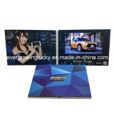 "2.4""/2.8""/4.3""/5""/7'/10'' TFT LCD Video Folleto para coche"