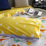 Microfiberの敷布の羽毛布団は寝具をカバーする