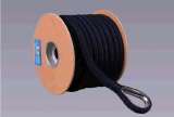 Premium double tresse nylon Ligne d'ancrage avec virole