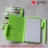 80sheet Plastic Cover Cheap School Notebook mit Pen