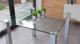 /Circle円形のスクエア、不規則な整形テーブルの上の緩和されたか強くされたガラス