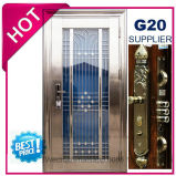Безопасности Двери из нержавеющей стали с остекления кузова в SUS304 (ES-8079)