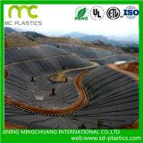 A reciclagem de matérias-primas produzidas Geomembrana PE usado no aterro terra/água