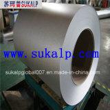 Bobina de aço revestida de alumínio e liga de zinco