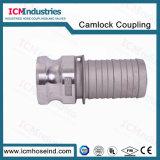 알루미늄 다단식 미늘 유형 E Camlock 연결 또는 Acople Camlock