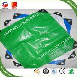 A impermeabilização de lona de PE, cobrindo os galpões de plástico Poli Tarp