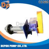 Heavy Duty bordée de caoutchouc de la pompe à lisier vertical