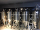 Cervejaria tanques Jacketed e isolados de 30 tambores do fermentador