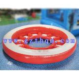 Grandes PVC agua inflable amortiguador de aire / inflable parque acuático juguetes