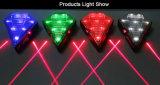 Fahrrad-Laser-Endstück-Licht-Nacht des Plastik7 LED