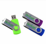 Movimentação de giro do flash do USB dos presentes da vara do USB do logotipo de Pendrive livre