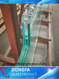 Abgehärtetes Sentryglas lamelliertes Glas mit Kerbe/Löchern/sicherer Ecke/dem Polierrand löschen, der für modernes Gebäude angepasst wird