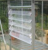 Новая конструкция из алюминия стекло окна с жалюзи