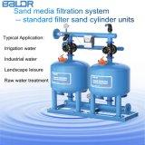 De de auto Systemen van de Filtratie van de Media van het Zand van het Koolstofstaal/Apparatuur van de Filtratie van het Water
