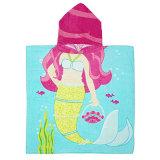 Poncio stampato non Xerox del bagno del poncio della spiaggia di disegno animale