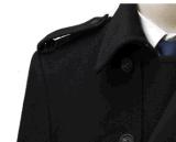 Winter Woolen Long Coat Top-Quality Men с Belt