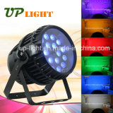 Wasserdichtes 18PCS 12W RGBWA UV6in1 Zoom LED PAR