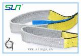 Imbracatura di sollevamento duplex 2017 della tessitura della cinghia della tessitura di colore del Ce del poliestere approvato di codice