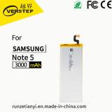 Nuevo reemplazo de la batería del Li-ion de la alta calidad del 100% para la nota 5 Sm-N920 N920A Eb-Bn920abe 3000mAh de Samsung
