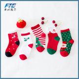 De promotie Sok van de Kous van Kerstmis van de Pluche voor Jonge geitjes
