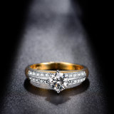Ультрамодное латунное медное кольцо способа Costume Zircon