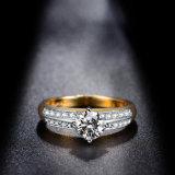 Модный латунь медь циркон костюм мода кольцо