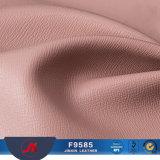 Couro sintético do PVC do teste padrão transversal de Saffiano