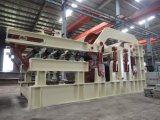 Panneau de particules semi-automatique faisant la machine, chaîne de production automatique de panneau de particules