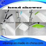 크롬 도금을 한 샤워 꼭지 목욕탕 강우 샤워 꼭지 세트