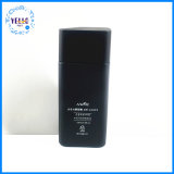 Schwarze kosmetische Glasflasche