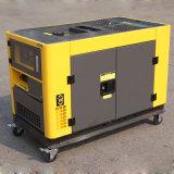 Generatore silenzioso portatile del diesel da 10 KVA del collegare di rame del bisonte