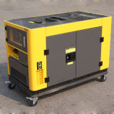 Gerador silencioso portátil do diesel de 10 kVA do fio de cobre do bisonte