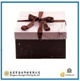 Het aangepaste Vierkante Vakje van de Gift van het Document voor de Verpakking van de Cake (gJ-Box449)