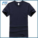 T-shirt estampé par coton fait sur commande unisexe d'OEM