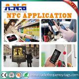 Ce, étiquettes blanches du coup NFC de vêtement d'OIN/tag RFID passifs de tissu pour le vêtement