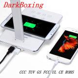Caricatore senza fili della batteria del telefono senza la lampada della Tabella di tocco dello stroboscopio