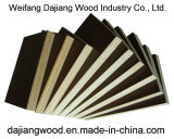 Film Faced Plywood with High Quality Guarantee and Waterproof and Black/Brown Film for Construction