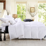 Quilt acolchoado branco do Duvet macio super para baixo alternativo do Comforter