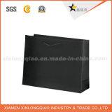 El medio ambiente negro mate clásico embalaje bolsa de papel