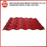 Строительный материал стальной продукции оцинкованного листа крыши из гофрированного картона кровли