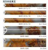 PVC에서 한 벽 장식적인 조형은 UV 완료에 대리석을 판매했다