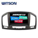 Processeurs quatre coeurs Witson Android 9.0 pour Opel Insignia 2008-2011 Capactive 1024*600 écran