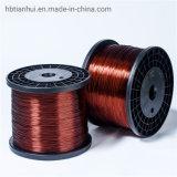 155 nylon/bobine de cuivre émaillé de polyuréthane/CCS Brin de fil en acier plaqué de cuivre pour câble aérien