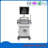 Medical chariot entièrement numérique noir et blanc du scanner à ultrasons