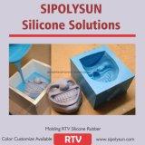 La muffa del silicone che rende la gomma uguale con colore di Oomoo 30 personalizza