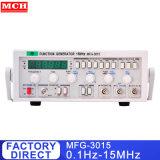 0,1 Hz-15MHz générateur de signal générateur de signal RF avec fonction de compteur de fréquence MFG-3015
