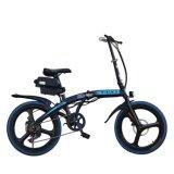 Bicicleta Elétrica dobrável de 20 polegadas com bateria de lítio